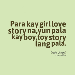 Toy Story Love Quotes