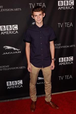 Robbie Kay Actor Robbie Kay attends the 2014 BAFTA Los Angeles TV Tea