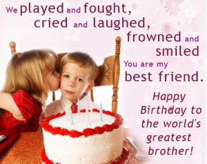 quotes for older brother the best birthday ever favorite birthday ...