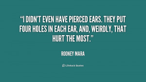 Quotes About Ear Holes