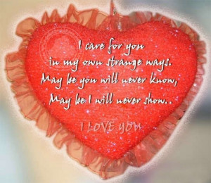 Love Quotes: I Care For You