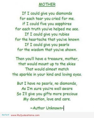 Memorial Quotes for Mom | Memorial Words For Mother http ...
