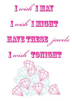 Jewelry Party Free Printable by Just Us Three Design More