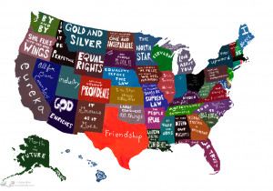 In Mottos We Trust? United Statements of America (StrangeMaps)