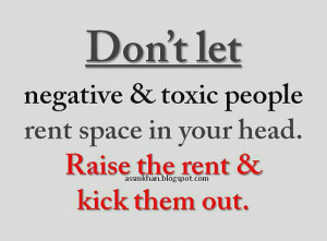 How To Deal With Negative Energy or Toxic People