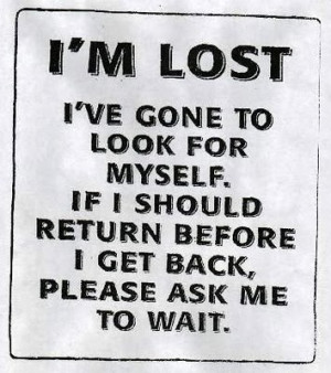 ... this last few weeks i am feeling a bit lost like i am chasing my tail