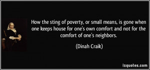 How the sting of poverty, or small means, is gone when one keeps house ...