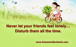 Awesome Quotes Disturb Them