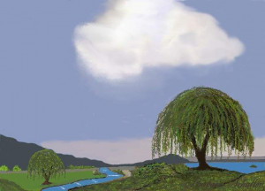 Weeping Willow Tree Quotes | Weeping Willows And Stream...