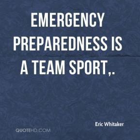 Emergency Preparedness Quotes
