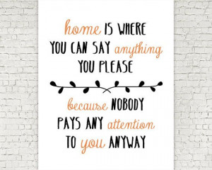 DIY Printable Wall Art // Office // Family // Home Quote // Print // 8 ...