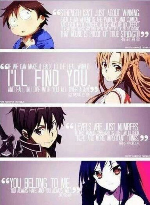 Some of the best anime quotes
