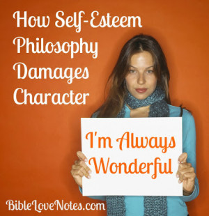 Dangers of high self-esteem