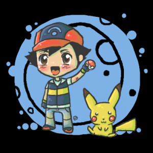 Back > Gallery For > Chibi Pikachu With Ashs Hat