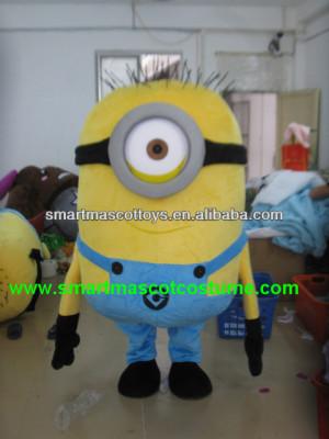 vendita calda di alta qualità minion minion costume mascotte costume ...