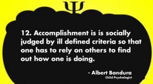 Albert Bandura quote