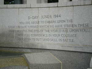 General Dwight D. Eisenhower D-Day Quote