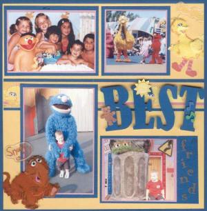 Layout: Sesame Street Best Friends - Shane Hershey
