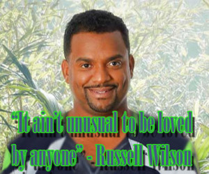 Russell Wilson's inspiring quote