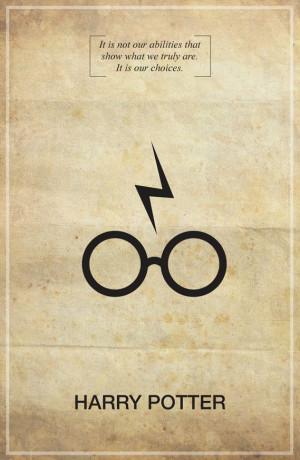 Harry Potter Memorable Quote Vintage 11X17 Poster Print. $18.00, via ...