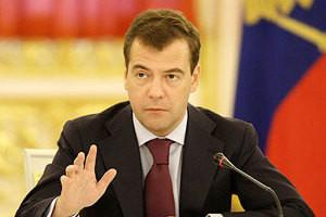 Islom Karimov Dmitriy Medvedevni tabrikladi
