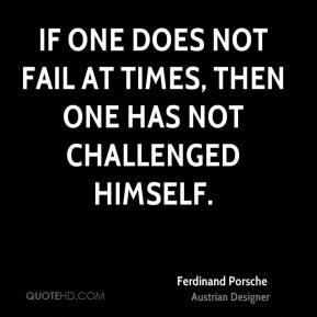 More Ferdinand Porsche Quotes