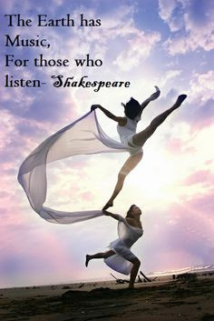Inspirational Dance Quote. #dance #inspire #shakespeare More
