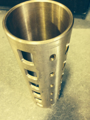 CNC Machining of a Brass Sleeve for the Oil & Gas Industry