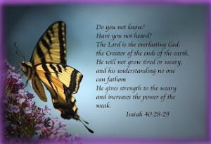 god give me strength to endure