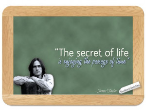 James Taylor... on the Secret of Life