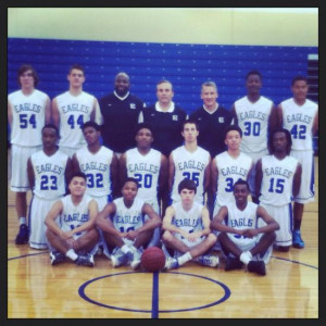 Eastside High School Varsity Boys Basketball Team 2014-15