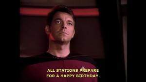Netflix Subtitle Fail: Riker wishes you a happy birthday!