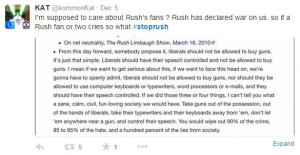 STOPRUSH Limbaugh: On net neutrality, The Rush Limbaugh Show, March ...