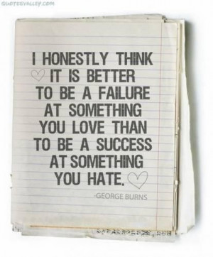 Failure love quotes sayings