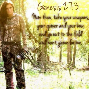 Hunt the beautiful land of the lord.
