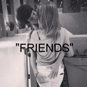 friends quote quotes quotes amp things words word kissing boy and girl ...