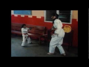 Kung Fu Midget vs Angry Karate Woman - Funny Video - Mini Me ...