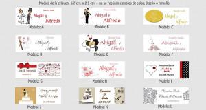 para personalizar tus recuerdos de boda, recuerdos personalizados HD ...