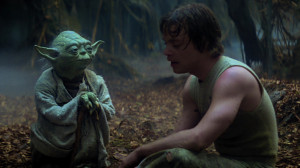 one of yoda s instructions to luke is to unlearn