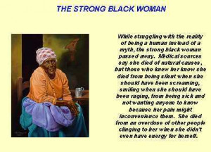Strong Black Woman Image