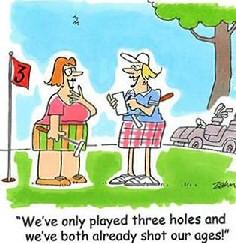 Golf Jokes for Women