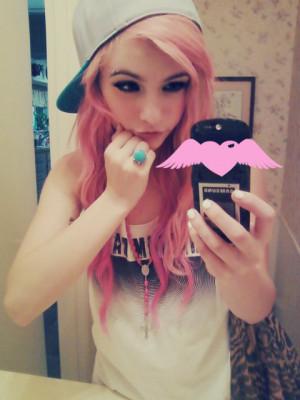hair snap backs swagsoft grunge pastel grunge pastel hair #pastel cute ...