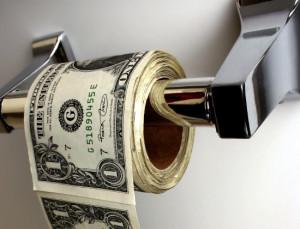 Money Toilet Paper