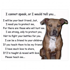 Pit Bulls Funny Quotes and Sayings