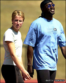 Linford Christie Wife