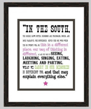 ... , Southern Quotes, Digital Prints, South Carolina, Quotes Collection