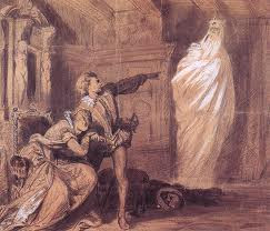 ... Hamlet. Marcellus says it after seeing the ghost of Hamlet's father