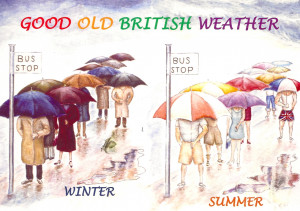 good old british weather 2009 the sender writes the weather is ...