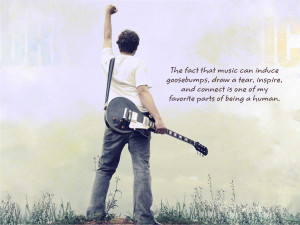 Quotes Music Wallpaper with 1600x1200 Resolution