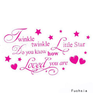 Removable-Twinkle-Twinkle-Little-Star-Quote-Wall-Sticker-Kids-Bedroom ...